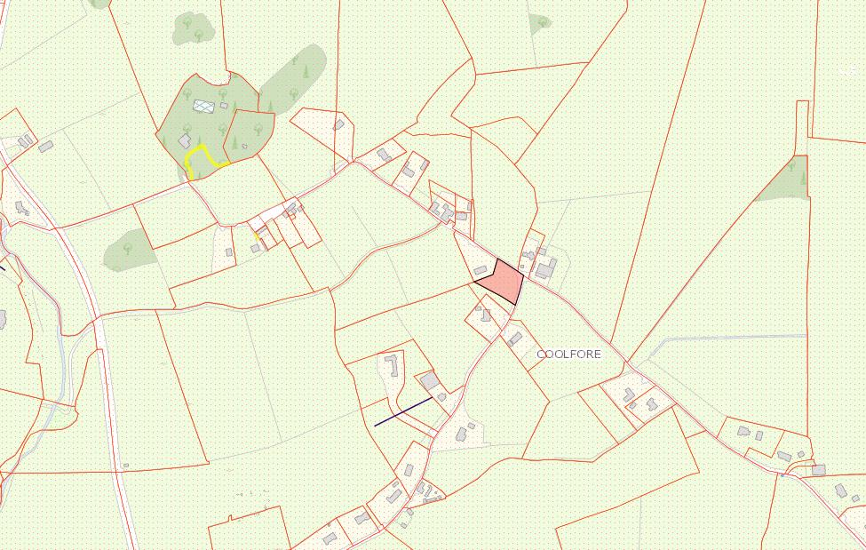 Circa 0.6 Acre Prime Site Coolfore Monasterboice Co Louth